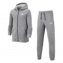 Nike Bv3634 Tuta Full Zip Con Cappuccio Core Bambino Abbigliamento Bambino