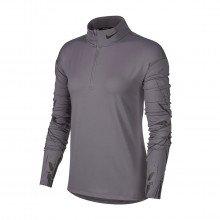 Nike Bv4375 Maglia Manica Lunga 1/2 Zip Dri-fit Element Donna Abbigliamento Running Donna