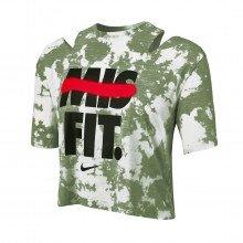 Nike Bv5116 T-shirt Crop Rebel Top Donna Abbigliamento Training E Palestra Donna