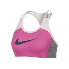 Nike Cj5865 Reggiseno Swoosh Logo Abbigliamento Training E Palestra Donna