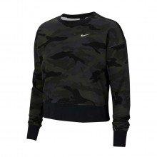 Nike Cu4621 Felpa Girocollo Dri-fit Get Fit Camo Donna Abbigliamento Training E Palestra Donna