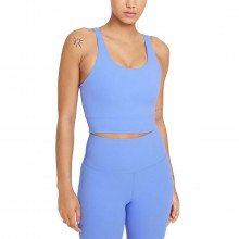 Nike Cv0576 Canotta Crop Yoga Luxe Infinalon Donna Abbigliamento Training E Palestra Donna