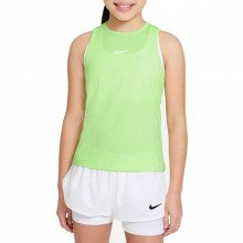 Nike Cv7573 Canotta Dri-fit Victory Bambina Abbigliamento Tennis Bambino