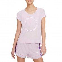 Nike Cz9606 T-shirt Icon Clash Miler Donna Abbigliamento Running Donna