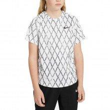 Nike Da4378 T-shirt Dri-fit Victory Bambino Abbigliamento Tennis Bambino