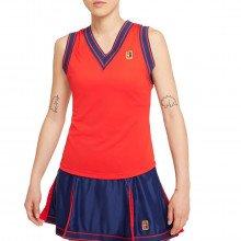 Nike Da4718 Canotta Dri-fit Slam Donna Us Open Abbigliamento Tennis Donna