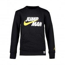 Nike Jordan 95a677 Felpa Girocollo Jumpman Felpata Bambino Abbigliamento Bambino
