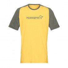 Norrona 2221 T-shirt Fjora Equaliser Lightweight Abbigliamento Montagna Uomo