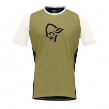 Norrona 2224 T-shirt Fjora Wool Abbigliamento Montagna Uomo