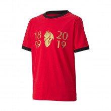 Puma 757512 T-shirt Milan 120 Anniversary Bambino Squadre Calcio Bambino
