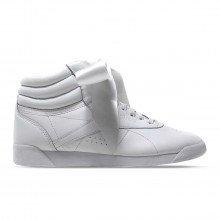 Reebok Cm8903 Freestyle Satin Hi Satin Bow Donna Tutte Sneaker Donna