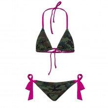 Sundek G219knl36sc Bikini Triangolo Camo Bambina Mare Bambino