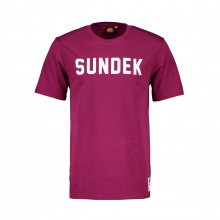 Sundek M025tej7800 T-shirt Scritta Logo Casual Uomo