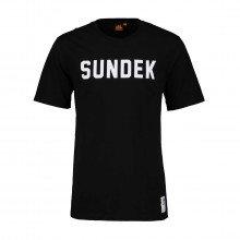 Sundek M025tej7800 T Shirt Scritta Logo Casual Uomo