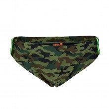Sundek M284ssly753 Slip Tribanda Arcobaleno Camouflage Mare Uomo