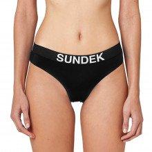 Sundek W200kbl3000 Slip Elastico Logo Marcela Donna Mare Donna