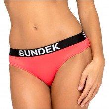 Sundek W200kbl4200 Slip Marcela Logo Donna Mare Donna