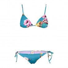 Sundek W287knl36hy Bikini Triangolo E Slip Regolabile Santa Cruz Donna Mare Donna