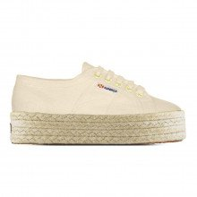 Superga S0099z0 2790 Fondo Zeppa 4cm Tutte Sneaker Donna