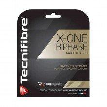 Tecnifibre 01gxo130xn X-one Biphase 1,30 Blister Corde Tennis Uomo