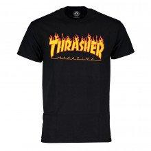 Thrasher 311019 T-shirt Thrasher Magazine Flame Logo Street Style Uomo