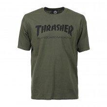 Thrasher 311027 T-shirt Thrasher Skate Mag Street Style Uomo