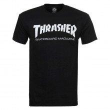 Thrasher 311027 T-shirt Thrasher Skate Mag Nera Street Style Uomo