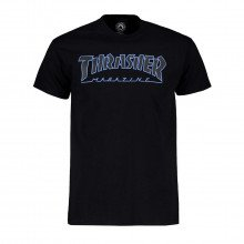Thrasher 311172 T-shirt Outlined Street Style Uomo