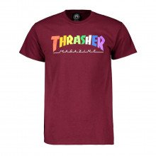 Thrasher 311520 T-shirt Raibowmag Street Style Uomo