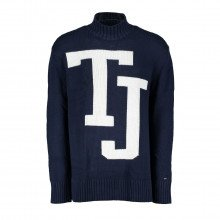 Tommy Jeans Dm0dm05071 Maglione Dolcevita Logo Tommy Jeans Casual Uomo
