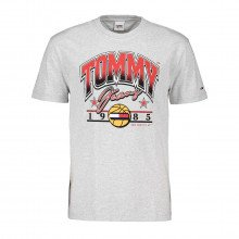 Tommy Jeans Dm0dm10220 T-shirt Basket Ball Graphic Casual Uomo