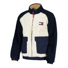 Tommy Jeans Dm0dm11859 Giacca Reversible Sherpa Giacconi Uomo