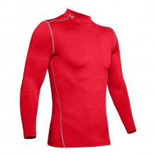 Under Armour 1265648 Maglia Manica Lunga Coldgear® Armour Compression Mock Abbigliamento Training E Palestra Uomo