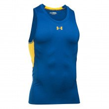 Under Armour 1271335 Canotta Curry Heat Gear Armour Abbigliamento Basket Uomo