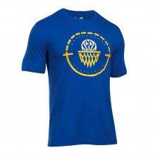 Under Armour 1298348 T-shirt Center Court Squadre Basket Uomo