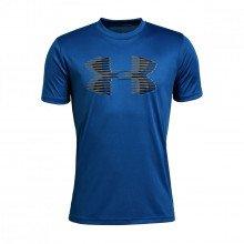 Under Armour 1331687 T-shirt Tech Big Logo Solid Bambino Abbigliamento Training E Palestra Bambino