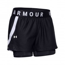 Under Armour 1351981 Short Play Up 2-in-1 Donna Abbigliamento Training E Palestra Donna