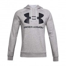 Under Armour 1357093 Felpa Con Cappuccio Rival Fleece Big Logo Abbigliamento Training E Palestra Uomo