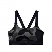 Under Armour 1358108 Reggiseno Rush Camo Abbigliamento Training E Palestra Donna