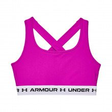 Under Armour 1361034 Reggiseno Heatgear® Crossback Mid Abbigliamento Training E Palestra Donna