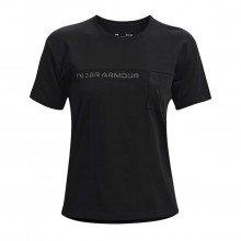 Under Armour 1365850 T-shirt Pocket Mesh Graphic Donna Abbigliamento Training E Palestra Donna