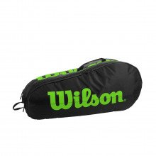 Wilson Wr8009601 Team 2 Comp Black/green Accessori Tennis Uomo