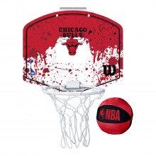 Wilson Wtba1302chi Canestrino Mini Hoop Bulls Accessori Basket Bambino