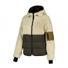 Woolrich Cfwwsw0065frut2796 Giacca In Pile E Nylon Curly Donna Giacconi Donna
