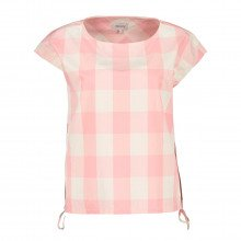 Woolrich Wwsi0060ut2103 Blusa Smanicata In Popeline Check Donna Casual Donna